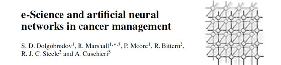 e-Science and artificial neural networks in cancer management